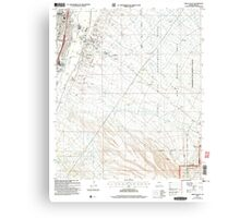 USGS TOPO Map Arizona AZ Green Valley 311574 2004 24000 Canvas Print