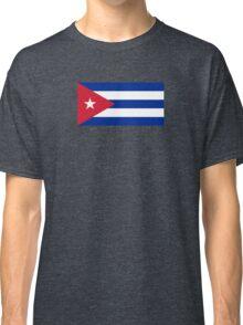 Cuba Flag - Cuban National Flag T-Shirt Sticker Classic T-Shirt