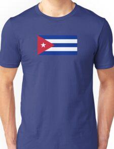 Cuba Flag - Cuban National Flag T-Shirt Sticker Unisex T-Shirt