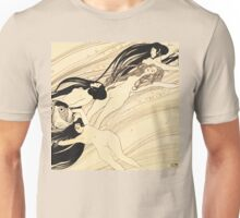 Fish blood by Gustav Klimt Unisex T-Shirt