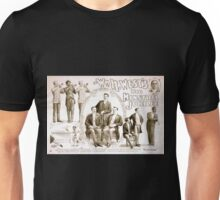 Performing Arts Posters Wm H Wests Big Minstrel Jubilee 1787 Unisex T-Shirt