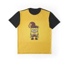 Spongebob x BAPE Milo  Graphic T-Shirt