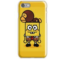 Spongebob x BAPE Milo  iPhone Case/Skin