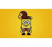 Spongebob x BAPE Milo  Photographic Print