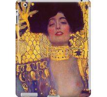 Judith by Gustav Klimt iPad Case/Skin