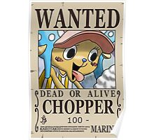NEW WORLD CHOPPER WANTED POSTER Poster