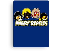 Angry Birds Parody- Angry Beatles Canvas Print
