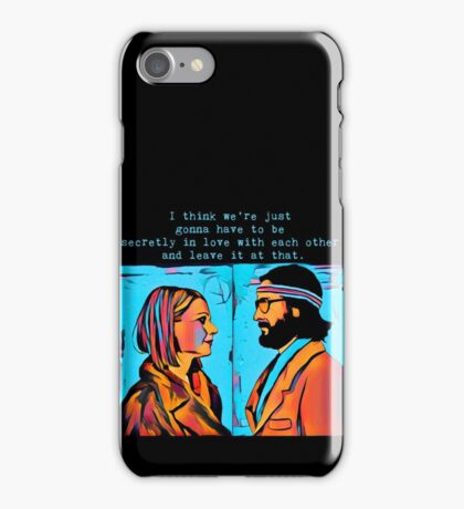 The Royal Tenenbaums Margot and Ritchie iPhone Case/Skin