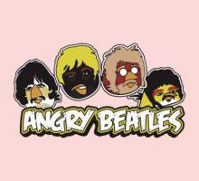 Angry Birds Parody- Angry Beatles Kids Clothes