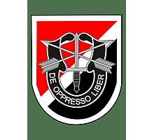 6th Special Forces Group (United States - Historical) Photographic Print