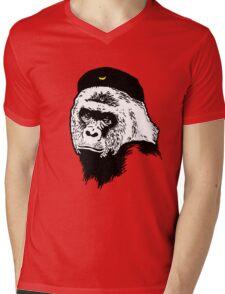 Harambe Guevara T-Shirt Mens V-Neck T-Shirt
