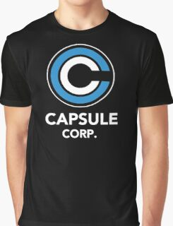 DRAGON BALL Z CAPSULE CORP Graphic T-Shirt
