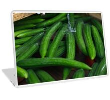 Cucumber Pool Laptop Skin