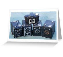 Kodak Box cameras Greeting Card
