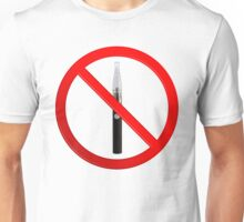 Vaping Not Permitted Sign Unisex T-Shirt
