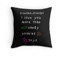 grandparent's day gift Throw Pillow