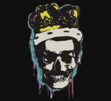 skull and crown Baby Tee