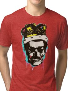 skull and crown Tri-blend T-Shirt