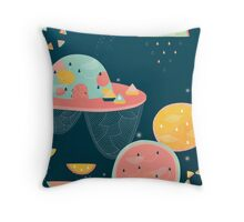 When You Wish Upon A Watermelon Throw Pillow