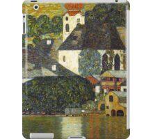 Church in Unterach on the Attersee by Gustav Klimt iPad Case/Skin