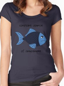 Amusement Fish Women's Fitted Scoop T-Shirt