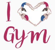 I Love Gymnastics  One Piece - Long Sleeve