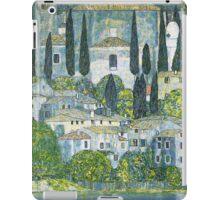Church in Cassone by Gustav Klimt iPad Case/Skin