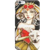 Werewolf Queen iPhone Case/Skin