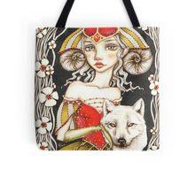 Werewolf Queen Tote Bag