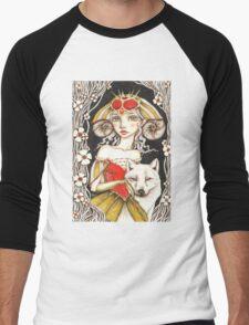 Werewolf Queen Men's Baseball ¾ T-Shirt