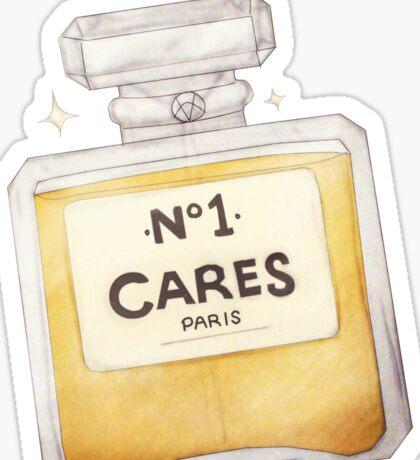 Chanel Parody - no.1 Cares Sticker