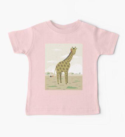 Giraffe in the savanna  Baby Tee