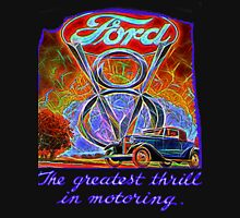 The Greatest Thrill In Motoring  Unisex T-Shirt
