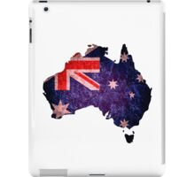 Australia Flag Map iPad Case/Skin