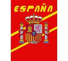Team Spain Tee Photographic Print