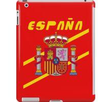 Team Spain Tee iPad Case/Skin