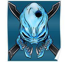 Elite Skull - Halo Legendary Poster