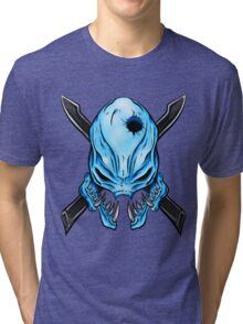 Elite Skull - Halo Legendary Tri-blend T-Shirt