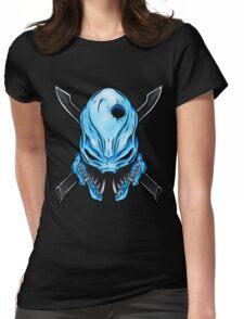 Elite Skull - Halo Legendary Womens Fitted T-Shirt