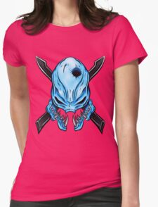 Elite Skull - Halo Legendary Womens Fitted T-Shirt