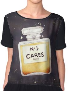 Chanel Parody - no.1 Cares Chiffon Top
