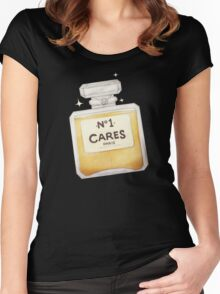 Chanel Parody - no.1 Cares Women's Fitted Scoop T-Shirt