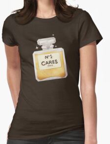 Chanel Parody - no.1 Cares Womens Fitted T-Shirt