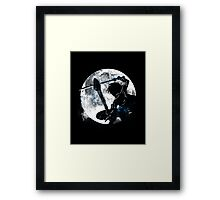 Male Gamer Framed Print