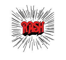 RASH RUSH Shirt Photographic Print