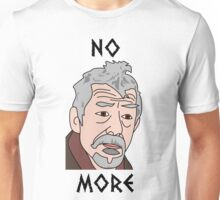 John Hurt War Doctor Who Unisex T-Shirt