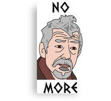 John Hurt War Doctor Who Canvas Print