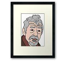 John Hurt War Doctor Who 2 Framed Print