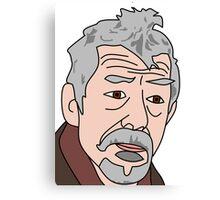 John Hurt War Doctor Who 2 Canvas Print