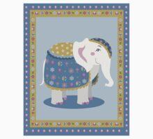 Indian elephant posing Kids Tee